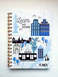 PLANNER BLUE TOWN 2020